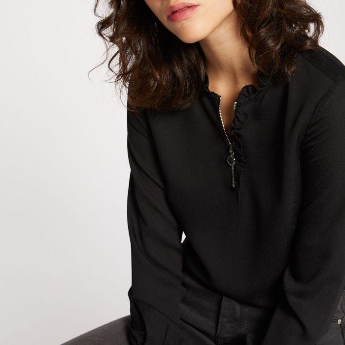 Blusa con cuello alto, manga larga  MORGAN image 0