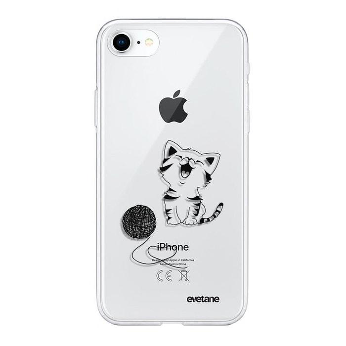 Coque iPhone 7/8/ iPhone SE 2020 souple silicone transparente