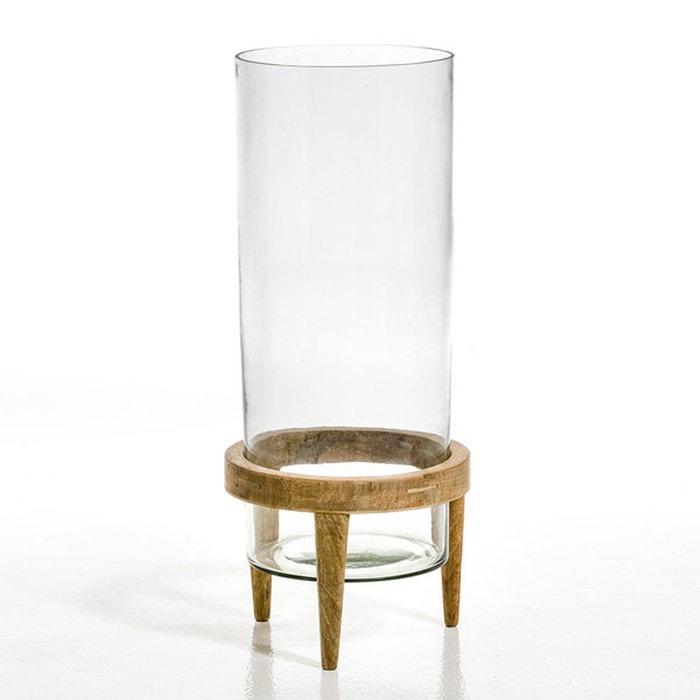 Terrarium Bocage verre et manguier, diamètre 25,5
