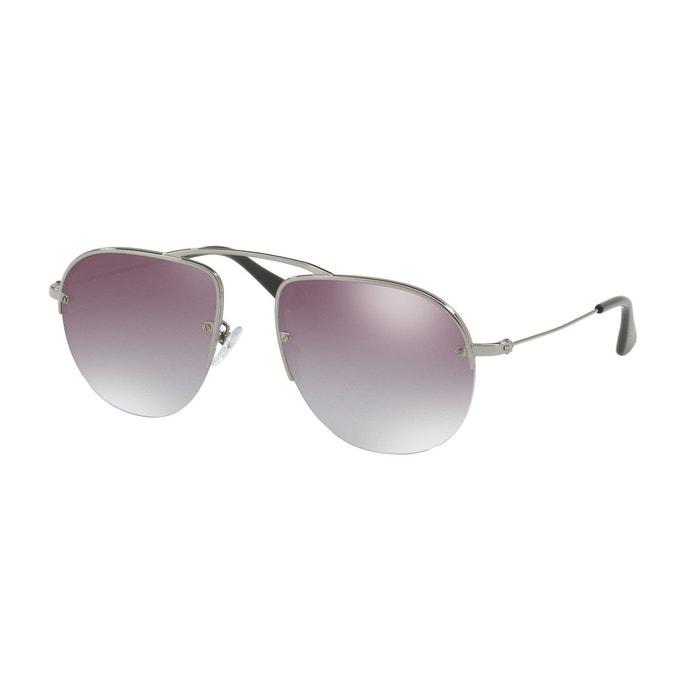 100% Authentique Jeu Style De Mode Lunettes de soleil pr 58os gris anthracite Prada   La Redoute 5jM0m