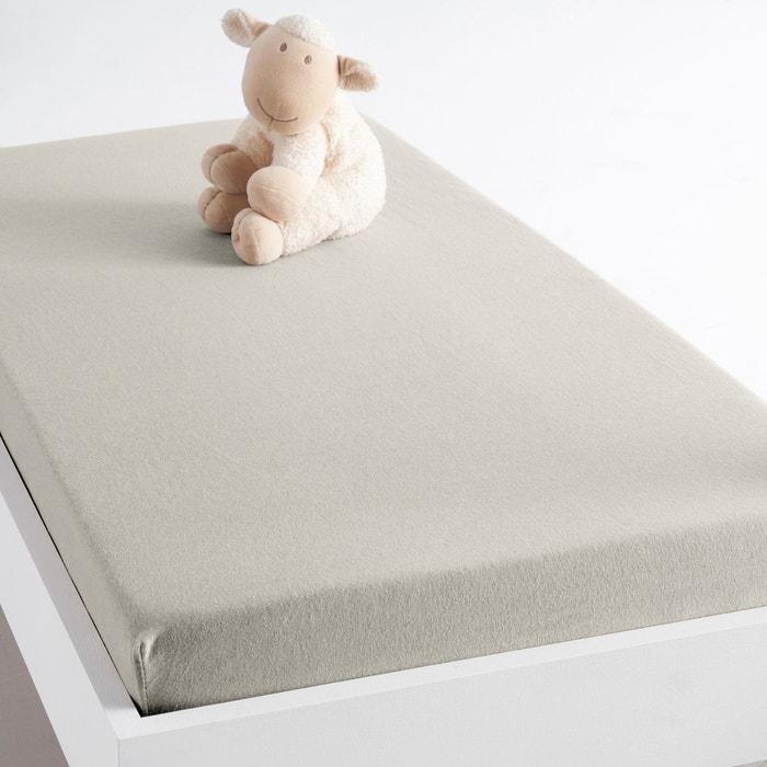 drap housse jersey pur coton bio pour lit b b scenario la redoute. Black Bedroom Furniture Sets. Home Design Ideas