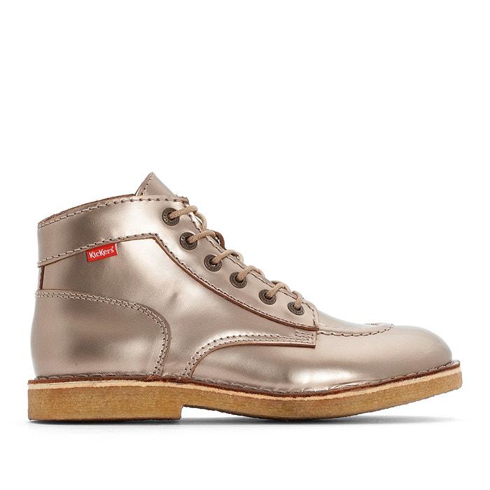 Boots pelle con patta a strappo Yeking  KICKERS image 0