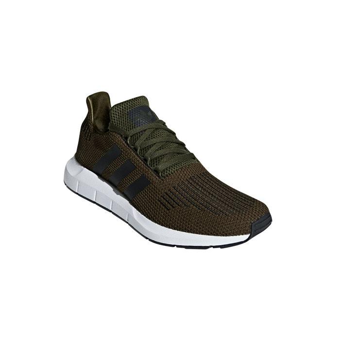Chaussures Adidas OriginalsLa Run Redoute Vert Kakinoirblanc