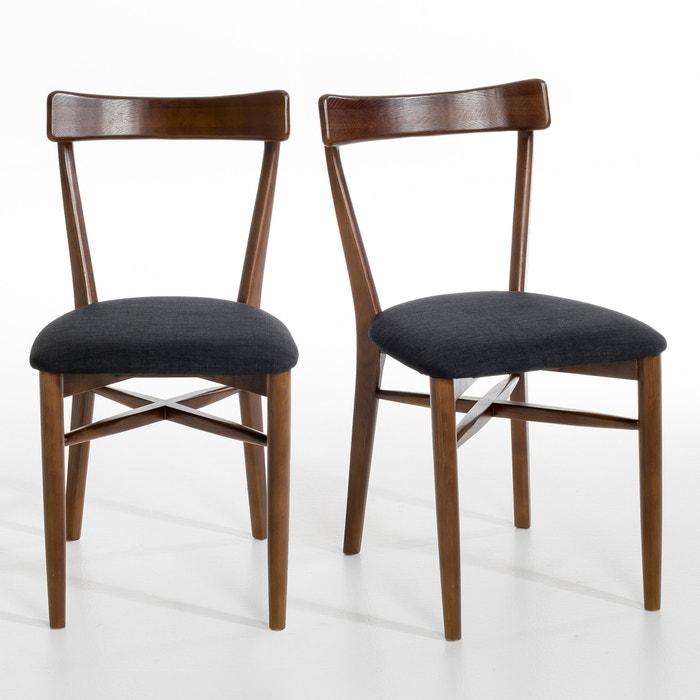 chaise bree lot de 2 am pm la redoute. Black Bedroom Furniture Sets. Home Design Ideas