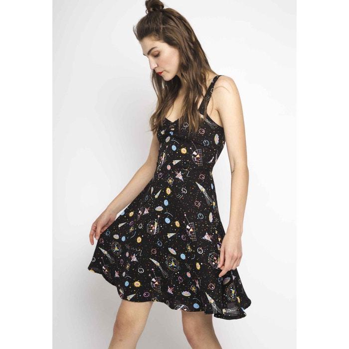 Galaxy Print Skater Dress  COMPANIA FANTASTICA image 0