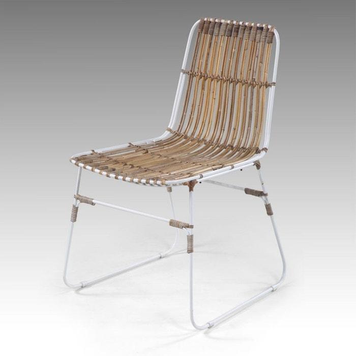chaise kubu amphoe couleur unique kha home design la redoute. Black Bedroom Furniture Sets. Home Design Ideas