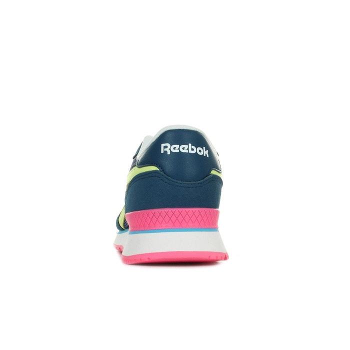 Baskets femme royal sprint bleu marine, rose, jaune Reebok