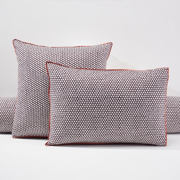 Image Poszewka na poduszkę lub wałek, z perkalu, DUO La Redoute Interieurs