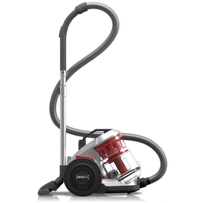aspirateur sans sac infinity ac dd5110 0 gris rouge dirt devil la redoute. Black Bedroom Furniture Sets. Home Design Ideas