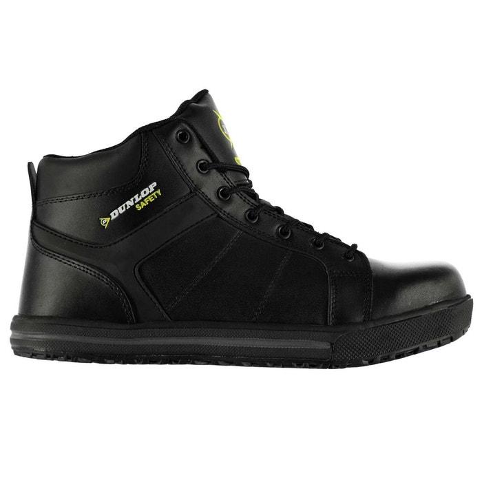 32c73fd2a7d44 Bottes bottines de travail sécurité noir Dunlop