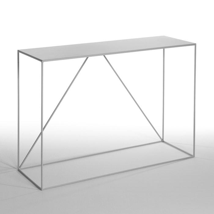 console m tal romy am pm gris la redoute. Black Bedroom Furniture Sets. Home Design Ideas