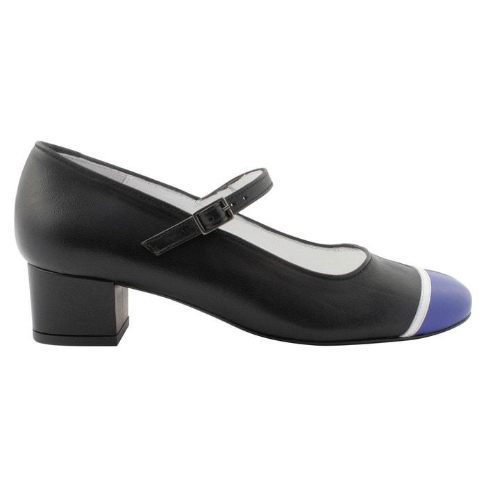Exclusif Paris Escarpins Fiona Noir - Chaussures Escarpins Femme