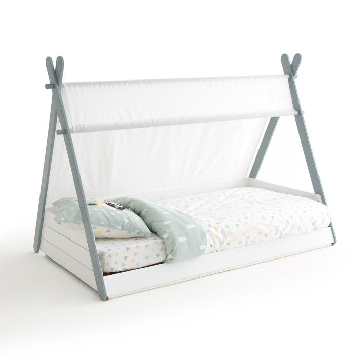 lit enfant avec sommier siffroy la redoute interieurs blanc la redoute. Black Bedroom Furniture Sets. Home Design Ideas