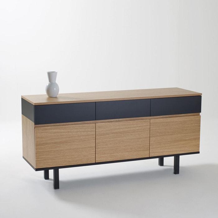 Buffet bicolore biface la redoute interieurs la redoute for La redoute meuble
