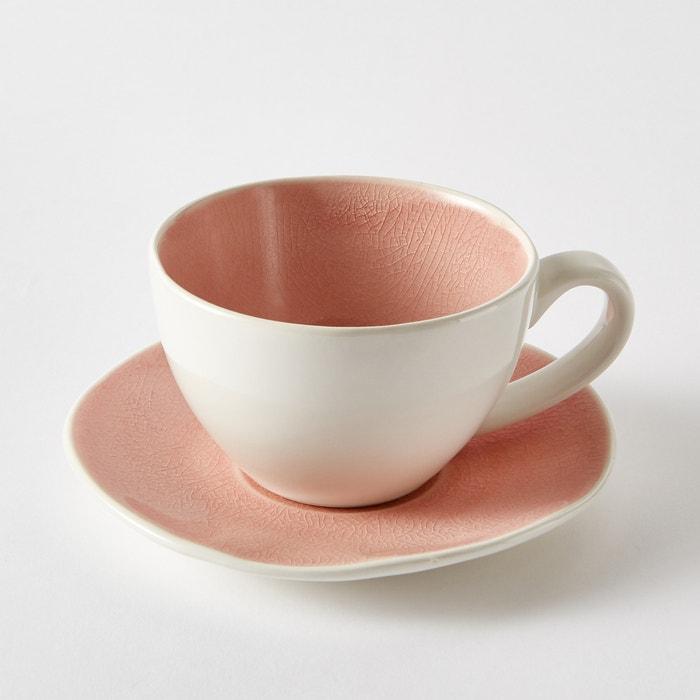 Confezione 4 tazze + piattini, GOGAIN  La Redoute Interieurs image 0