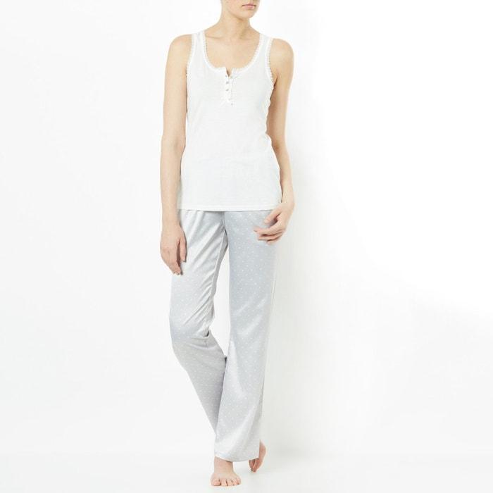 Image Pyjama  satin femme LOVE JOSEPHINE
