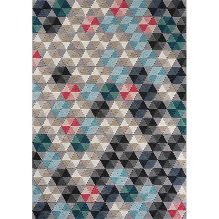 tapis design pour salon colmena en laine par unamourdetapis tapis moderne un amour de tapis. Black Bedroom Furniture Sets. Home Design Ideas