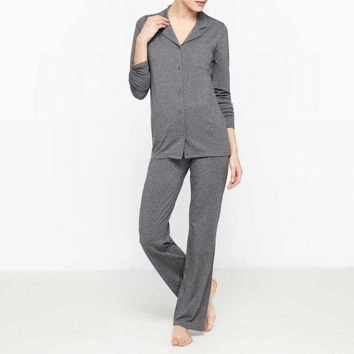 Image Pyjama jersey uni La Redoute Collections