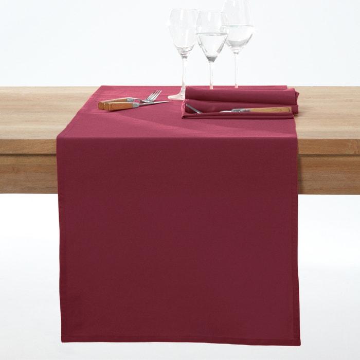 Image Chemin de table pur coton, traité anti-tâches, Scénario SCENARIO