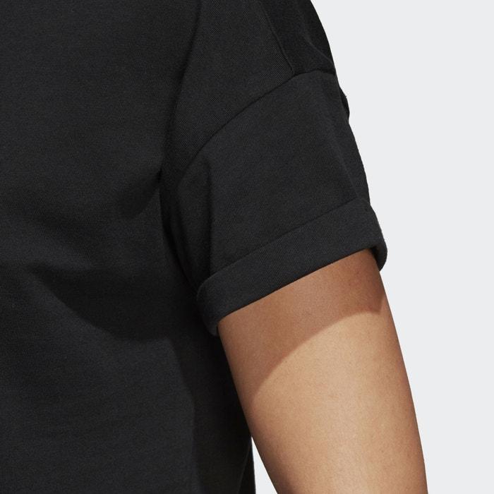 PERFORMANCE ADIDAS cuello corta de redondo Camiseta manga pqxd4F8q
