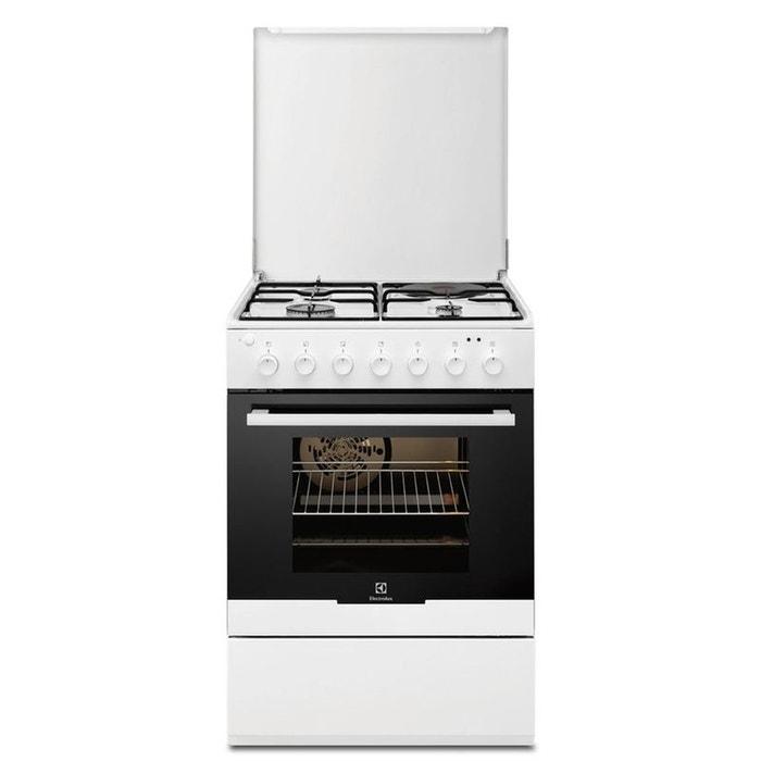 cuisini re mixte electrolux ekm60300ow blanc electrolux la redoute. Black Bedroom Furniture Sets. Home Design Ideas