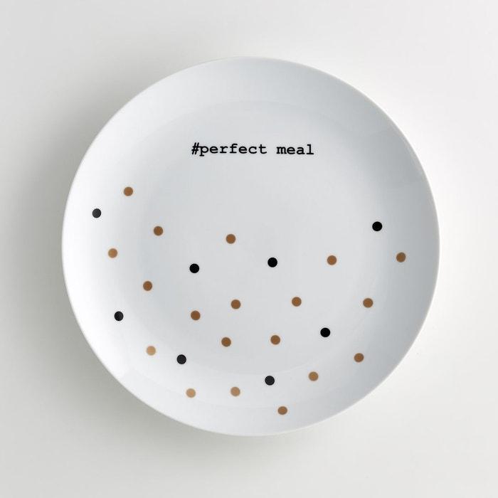 Plat de service rond en porcelaine, Kubler  La Redoute Interieurs image 0