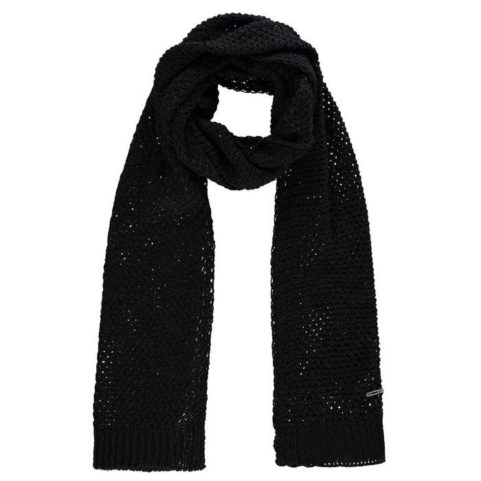Écharpe tricot noir Firetrap   La Redoute 1306be1b6b4