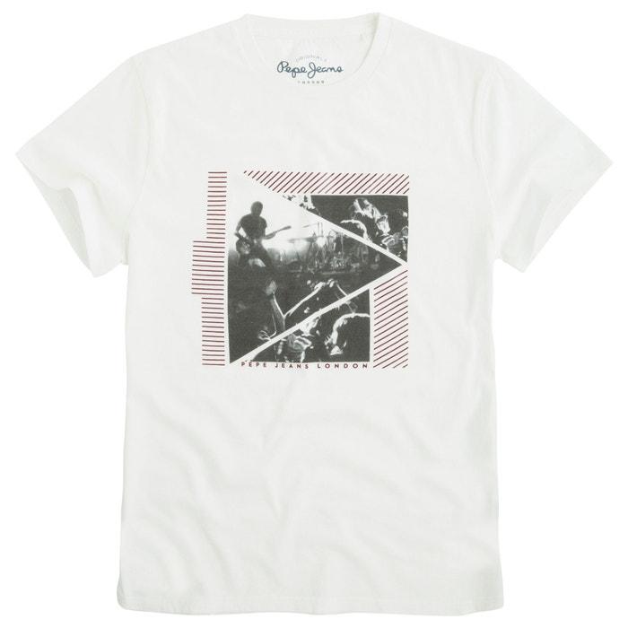 afbeelding Bedrukt T-shirt met korte mouwen PEPE JEANS