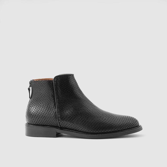Grande Vente Boots en cuir elfie Sortie Footlocker Finishline Paiement De Visa En Ligne amazone Les Dates De Sortie Authentique X8CMs8