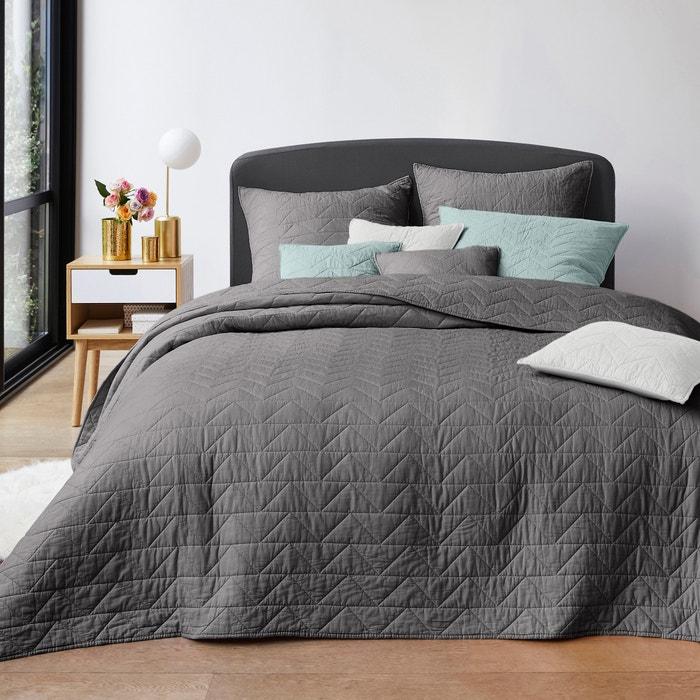 gematalasseerde boutis met zig zag stiksel la redoute interieurs la redoute. Black Bedroom Furniture Sets. Home Design Ideas