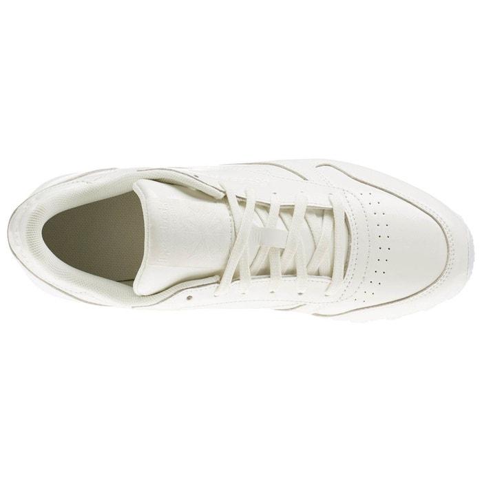 Baskets classic leather patent blanc Reebok