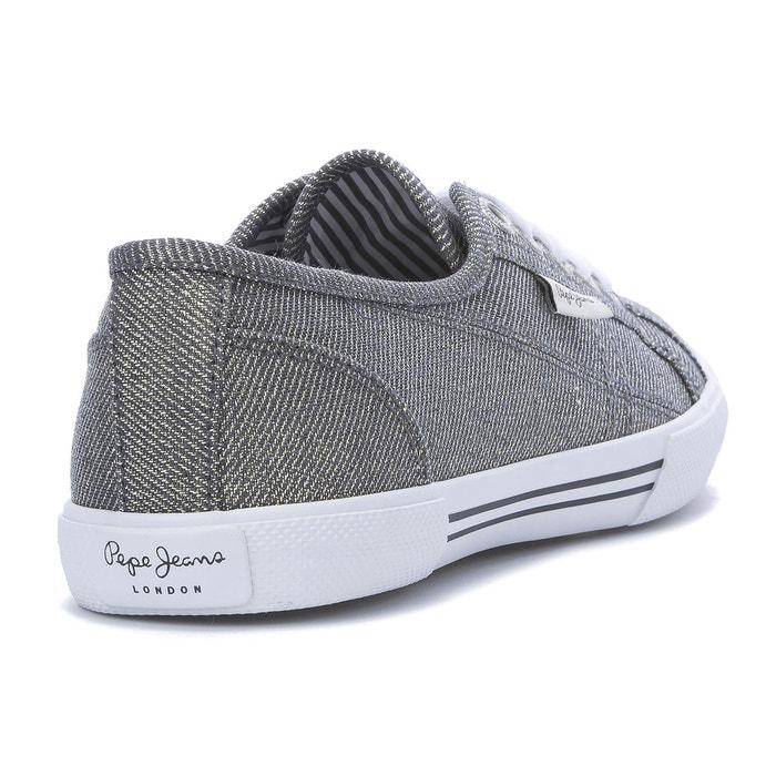 Baskets aberlady fresh chrome Pepe Jeans