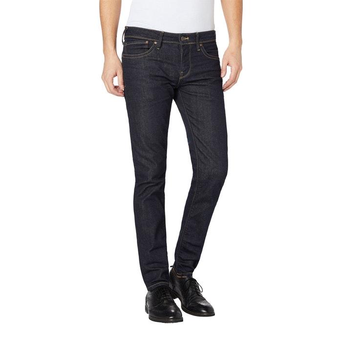 Hatch Slim Fit Jeans Untreated Blue Pepe Jeans La Redoute
