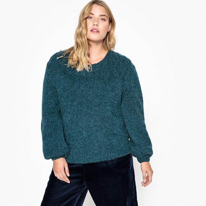 Пуловер с круглым вырезом из плотного трикотажа  CASTALUNA image 0