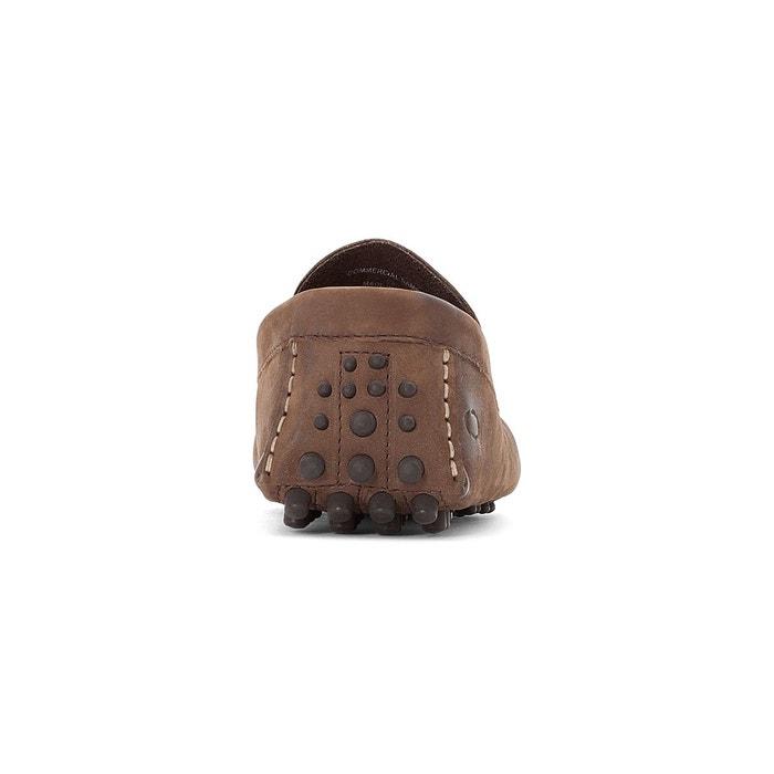 Mocassins cuir morgan marron Base London