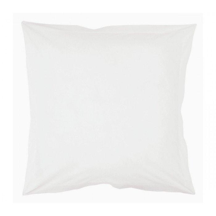 taie d 39 oreiller volant 50x70 coton intimity home maison la redoute. Black Bedroom Furniture Sets. Home Design Ideas