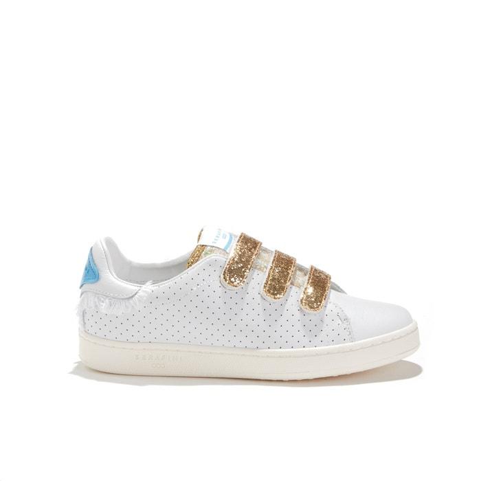 97bc8a88369 Sneakers in geperforeerd leer en glitter jimmy connors wit Serafini | La  Redoute