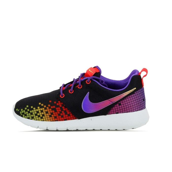 buy online 17695 234d5 Basket nike roshe one print junior - 677784-003 noir Nike   La Redoute