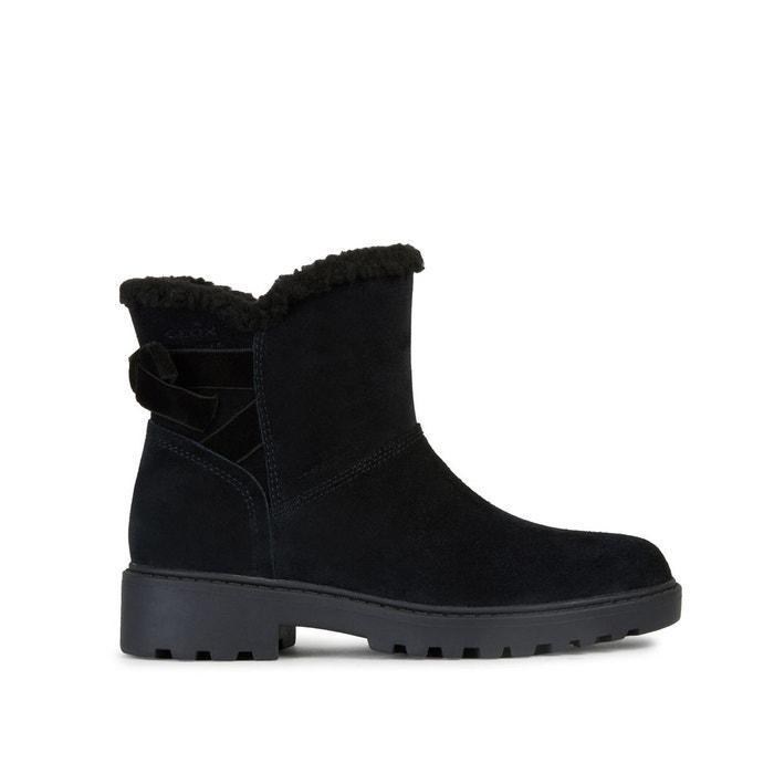 Boots respirantes waterproof en cuir Casey