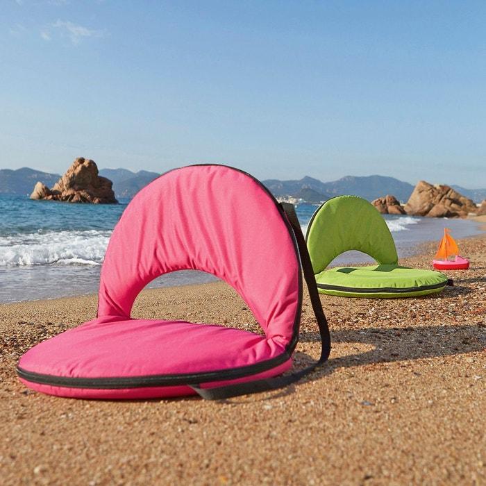 Chaise de plage pliante beth la redoute interieurs la for Chaise longue pliante de plage