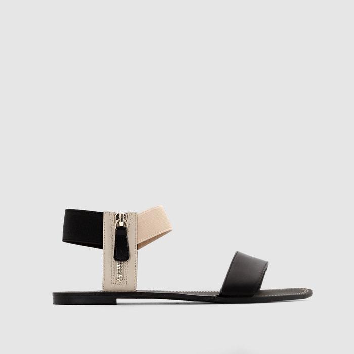 Image Flat Sandals with Zip R studio