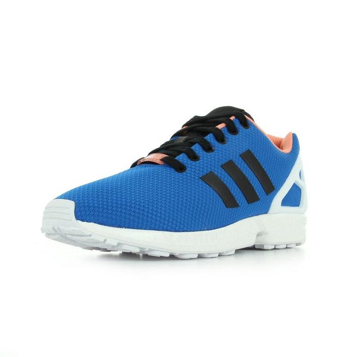 Chaussure FemmeHomme Adidas Originals ZX Flux Bleu AQ3100 1706240084 Magasin Adidas Pas Cher Site Officiel
