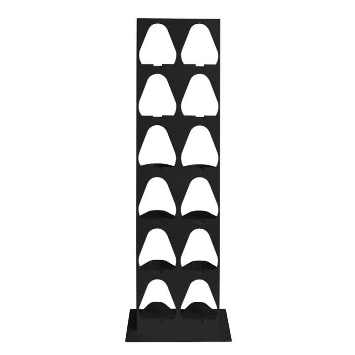 etagere range chaussures verticale en metal 6 paires perigot la redoute. Black Bedroom Furniture Sets. Home Design Ideas