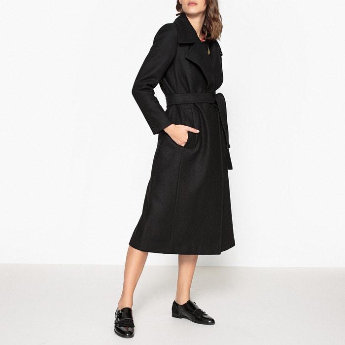 Wool Blend Carmen Long Coat