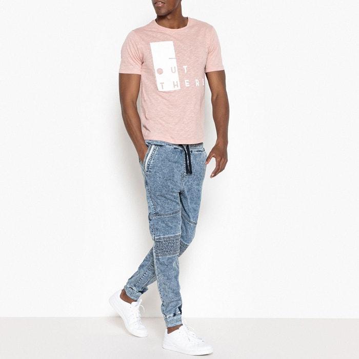 Tee shirt imprimé rose La Redoute Collections | La Redoute