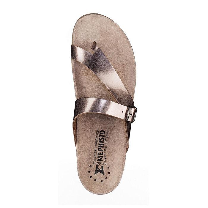 Sandales cuir helen marron Mephisto