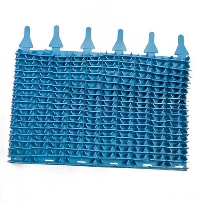 Zodiac brosse lamelles bleu pour robot indigo w1536a for Accessoire piscine deco