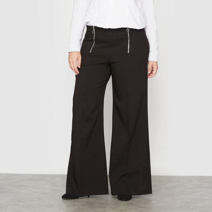 Image Pantalon large à pont zippé CASTALUNA