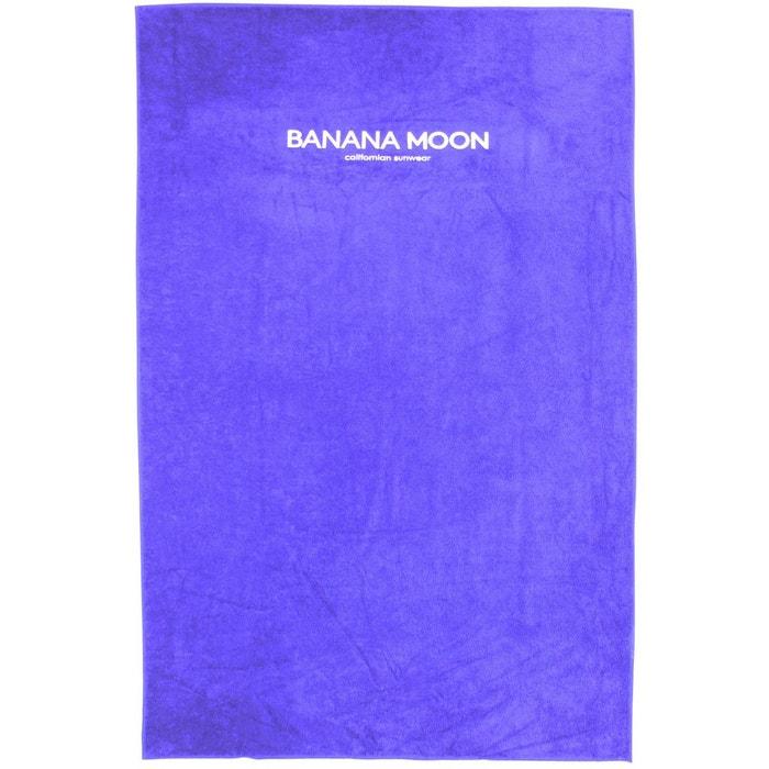 Drap De Plage Plain Towely Bleu Banana Moon La Redoute
