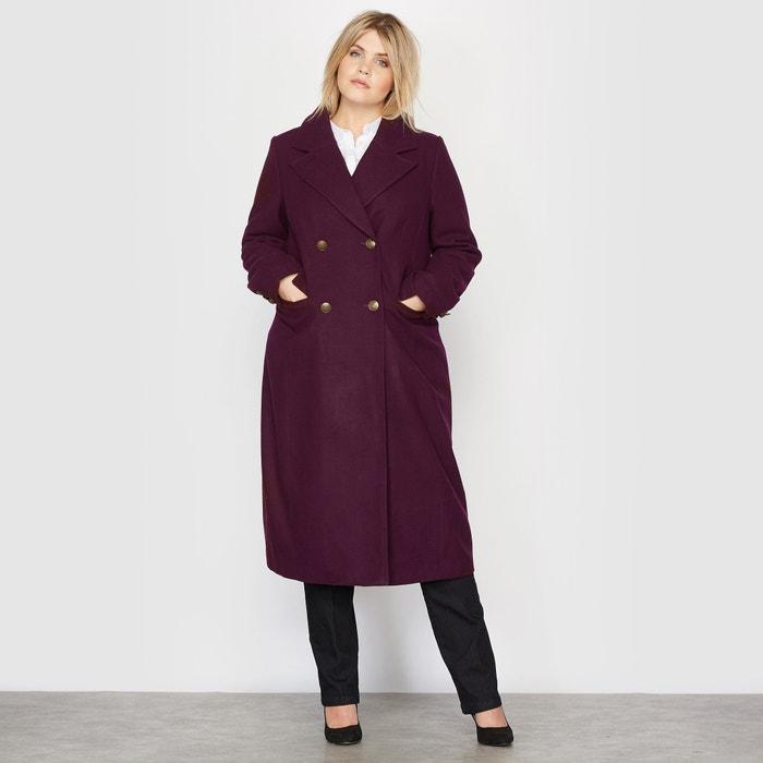 Wool Mix Military Coat.